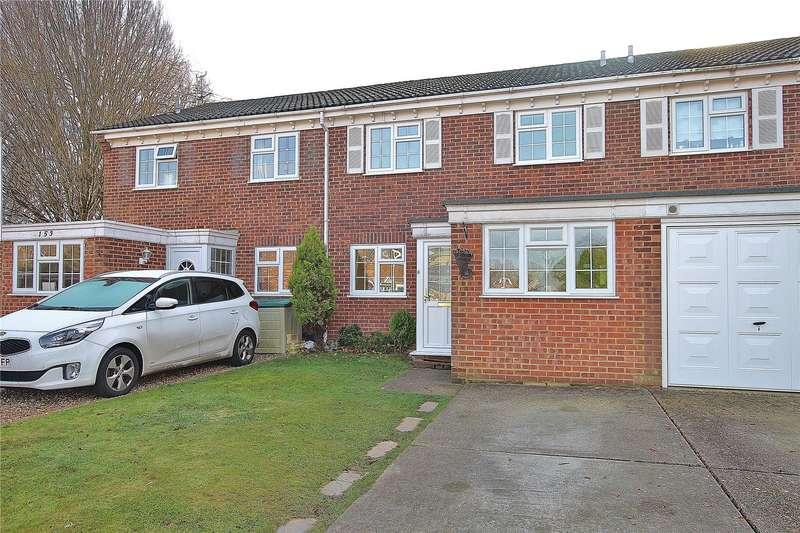 3 Bedrooms Terraced House for sale in Arethusa Way, Bisley, Woking, Surrey, GU24