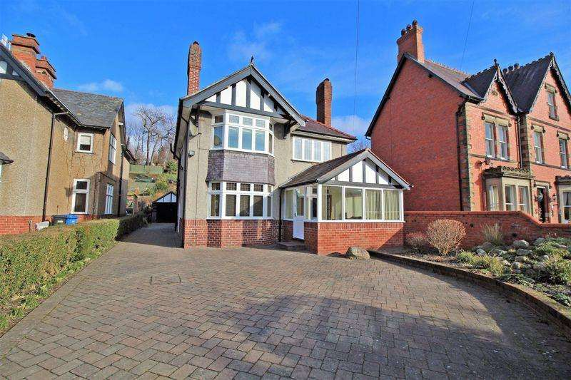 4 Bedrooms Detached House for sale in Abbey Road, Llangollen