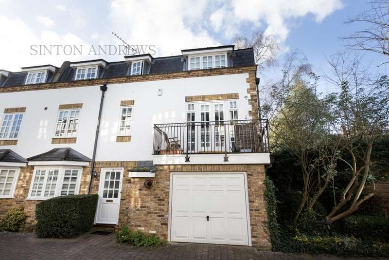 3 Bedrooms Semi Detached House for sale in Watermans Mews, The Mall, Ealing, W5