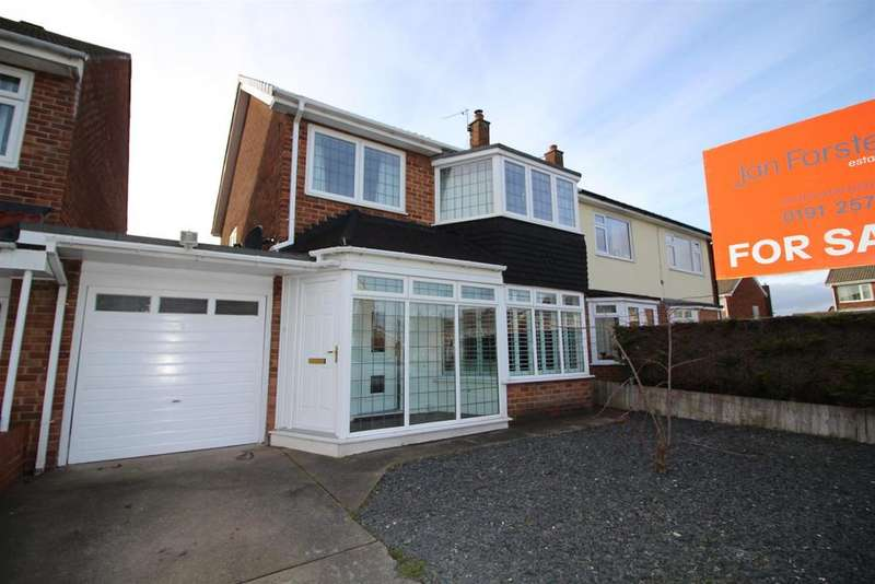 3 Bedrooms Semi Detached House for sale in Cleehill Drive, North Shields
