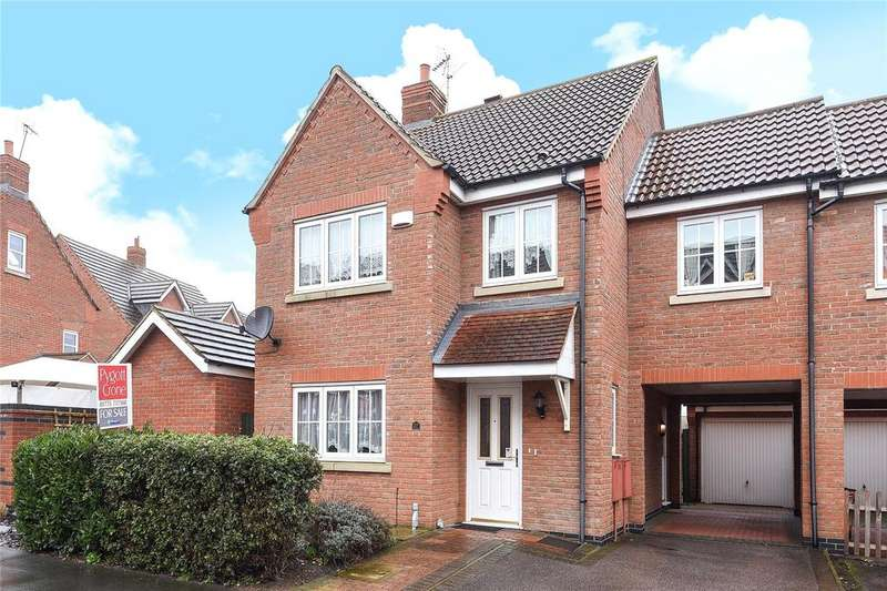 4 Bedrooms Link Detached House for sale in Livingstone Drive, Spalding, PE11
