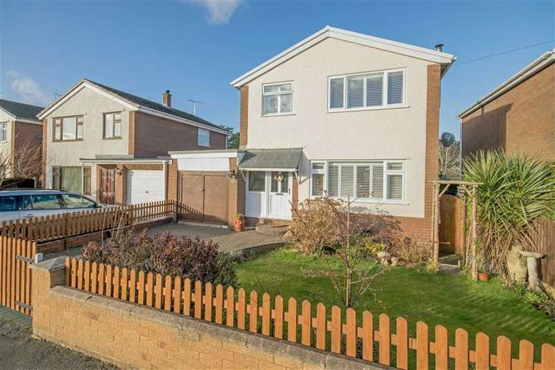 3 Bedrooms Link Detached House for sale in High Park, Gwernaffield, Mold