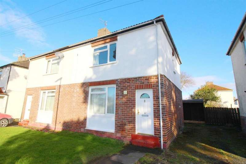 2 Bedrooms Semi Detached House for sale in Park View, Whitley Bay