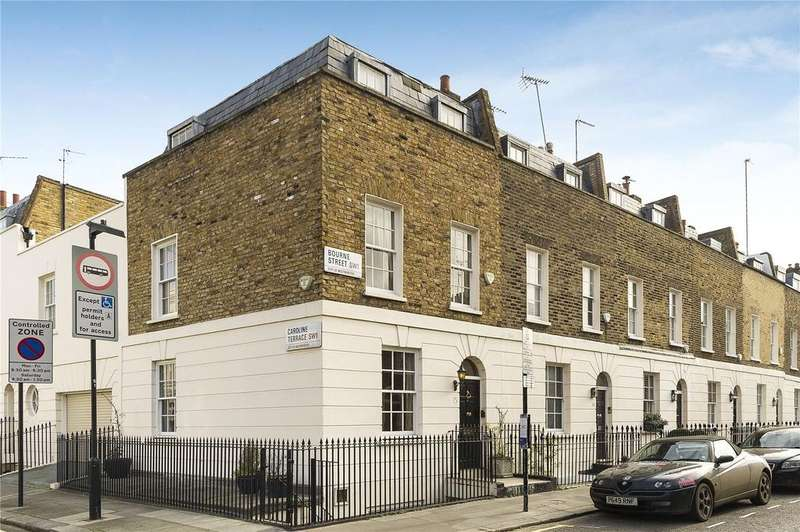 3 Bedrooms House for sale in Bourne Street, London, SW1W