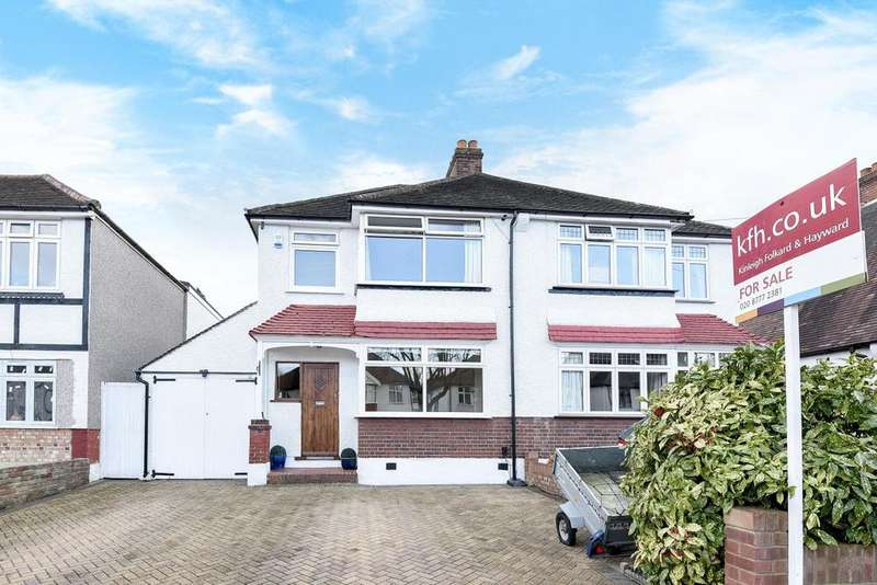 3 Bedrooms Semi Detached House for sale in Links View Road, Shirley