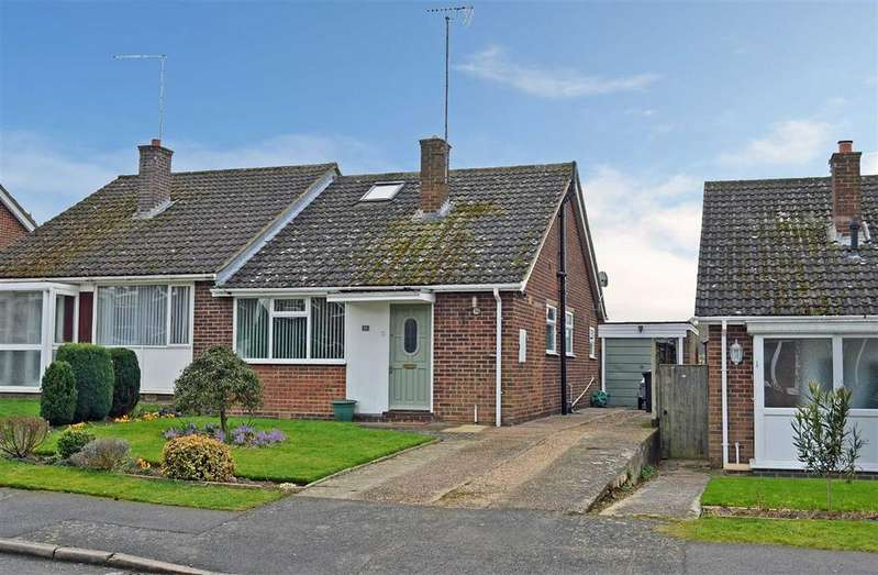 3 Bedrooms Semi Detached Bungalow for sale in South View, Nether Heyford