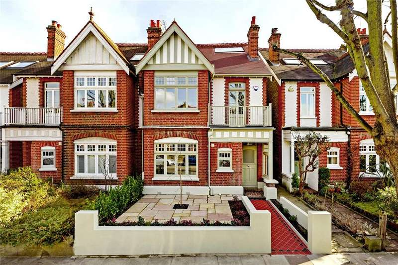 5 Bedrooms Semi Detached House for sale in Palewell Park, London, SW14
