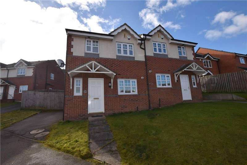 3 Bedrooms Semi Detached House for sale in Wharfedale Close, Leeds, West Yorkshire