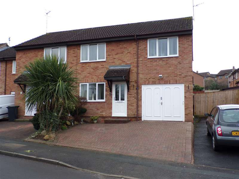 4 Bedrooms Semi Detached House for sale in Marigold Close, Woodhall Park, Swindon
