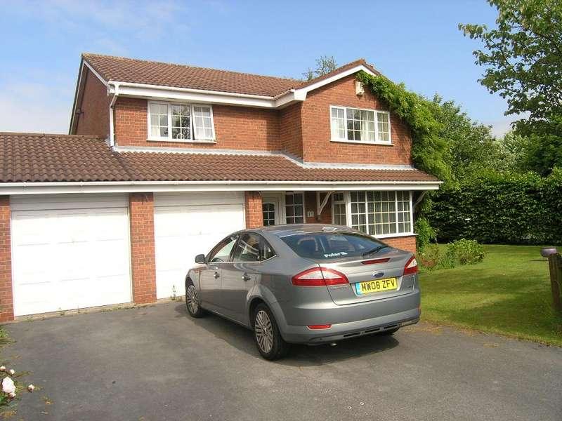 4 Bedrooms Detached House for rent in Castle Green, Kingswood, Warrington