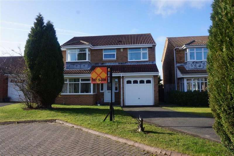 4 Bedrooms Detached House for sale in Bewick Park, Bewick Park, Wallsend, NE28