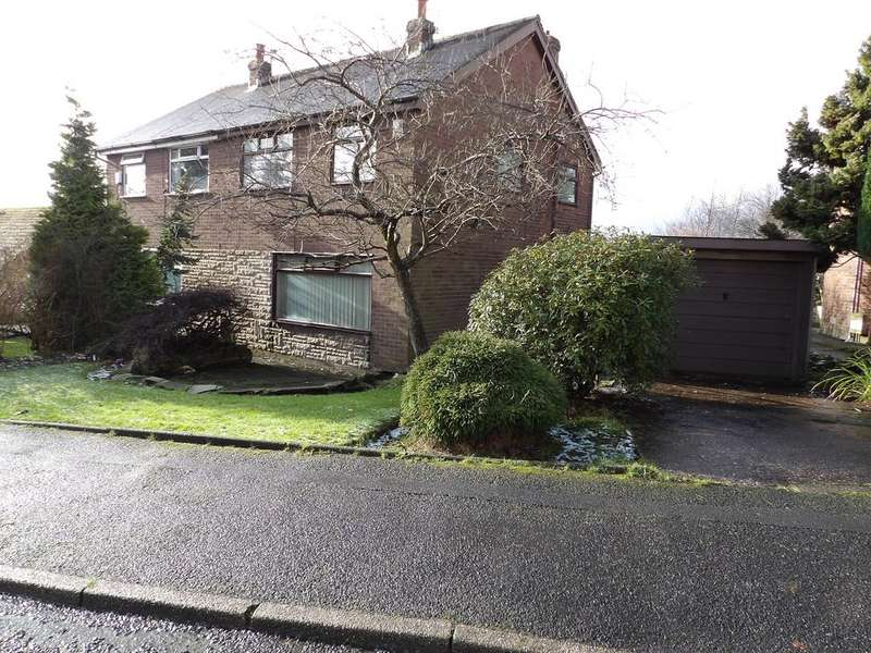 3 Bedrooms Semi Detached House for sale in Ashfield Crescent , Springhead, Oldham OL4