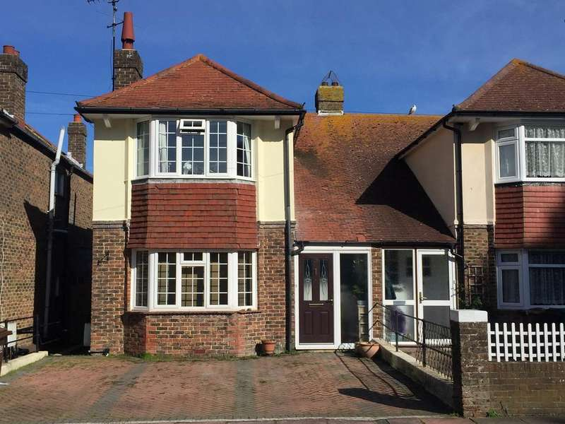 3 Bedrooms Semi Detached House for sale in Longland Road, Old Town, Eastbourne, BN20