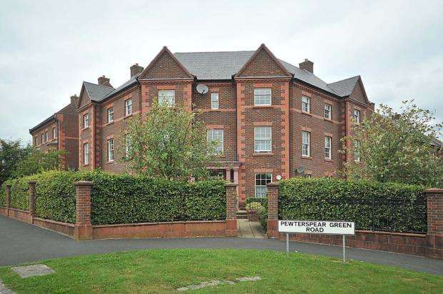 2 Bedrooms Apartment Flat for sale in Pewterspear Green Road, APPLETON, Warrington, WA4