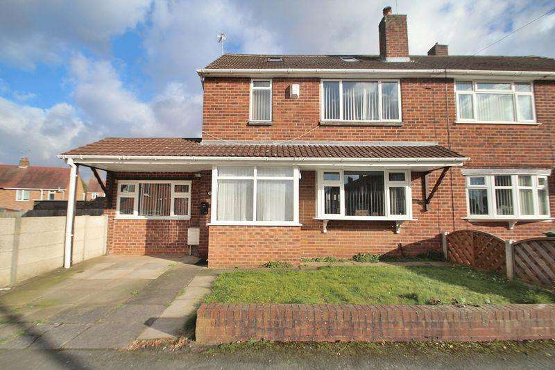 4 Bedrooms Semi Detached House for sale in Firs Road, Kingswinford DY6 8EL