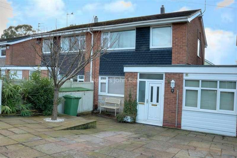 4 Bedrooms Semi Detached House for sale in Melksham Close, Macclesfield