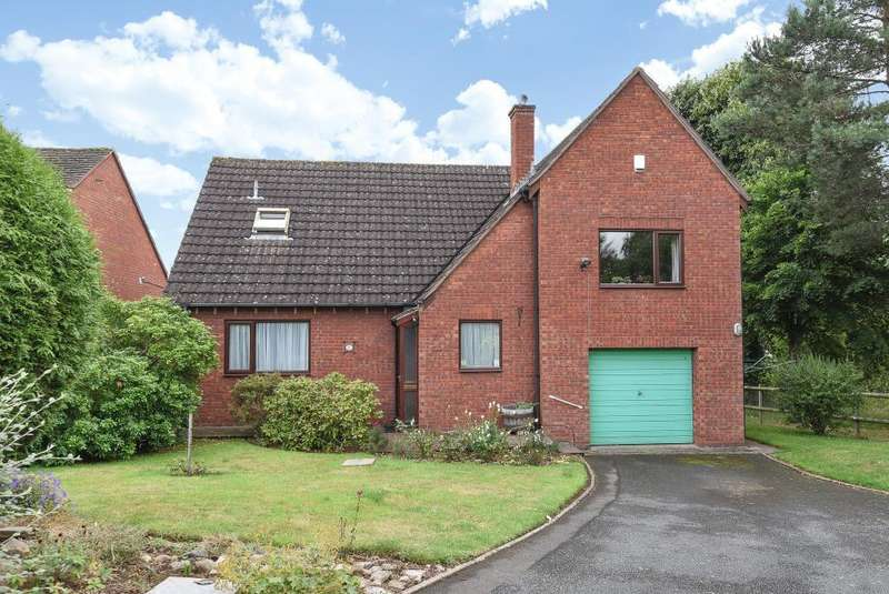 3 Bedrooms Detached House for sale in Aylestone Area, Hereford City, HR1