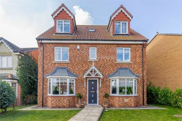 6 Bedrooms Detached House for sale in Lady Mantle Close, Hartlepool, Durham