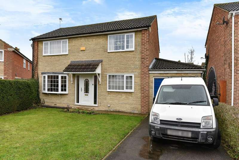 3 Bedrooms Detached House for sale in St. Hughs Close, Bicester, OX26