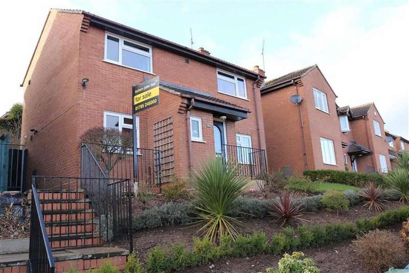 3 Bedrooms Detached House for sale in Vardon Close, Kingston Hill, Stafford