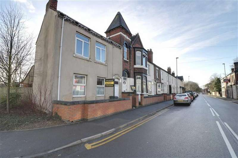 2 Bedrooms End Of Terrace House for sale in London Road, Stoke-on-Trent