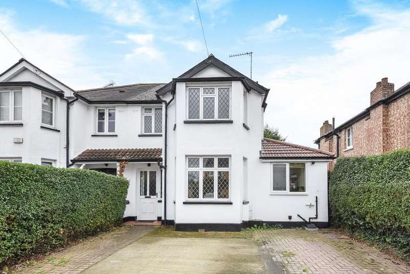 3 Bedrooms House for sale in Halliford Road, Sunbury-On-Thames, Lower Sunbury, TW16
