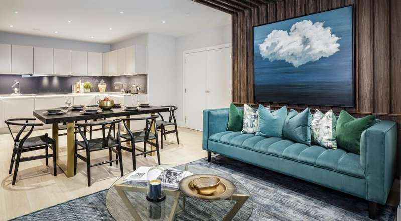 2 Bedrooms Flat for sale in Boyd House, Kidderpore Green, Kidderpore Avenue, NW3