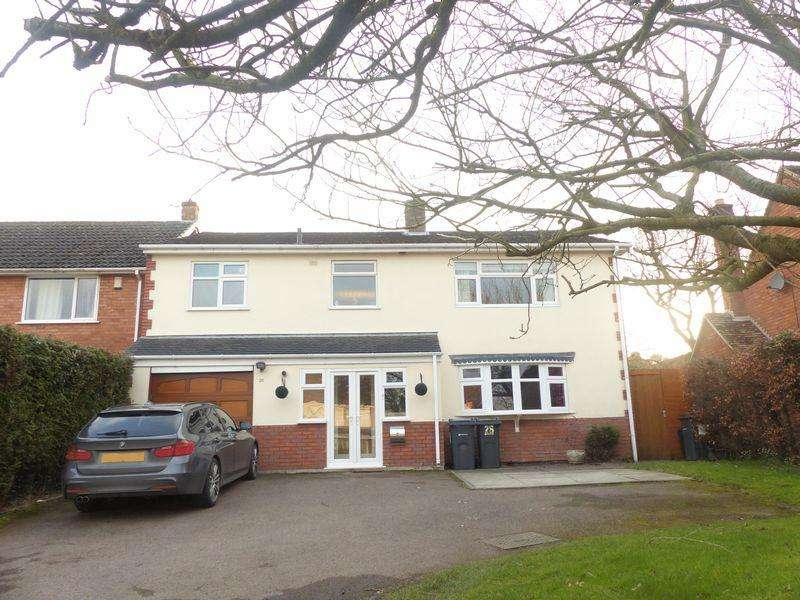 5 Bedrooms Detached House for sale in Kittoe Road, Four Oaks, Sutton Coldfield
