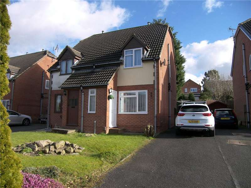2 Bedrooms Semi Detached House for sale in The Pemberton, Broadmeadows, Alfreton, Derbyshire, DE55