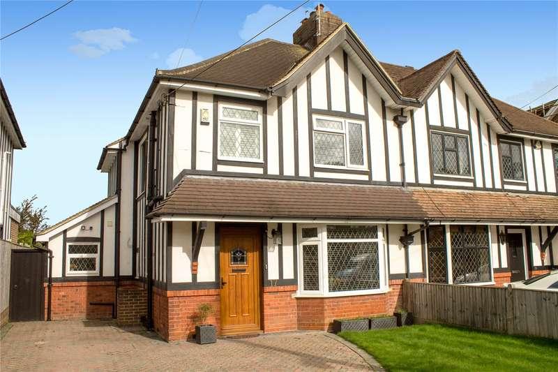 3 Bedrooms Semi Detached House for sale in Queens Road, Haywards Heath
