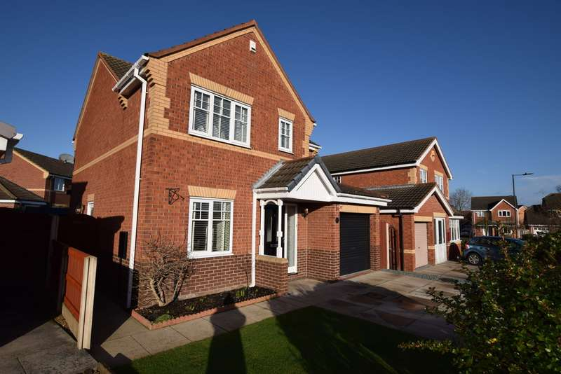 4 Bedrooms Detached House for sale in Tickhill Way, Rossington DN11