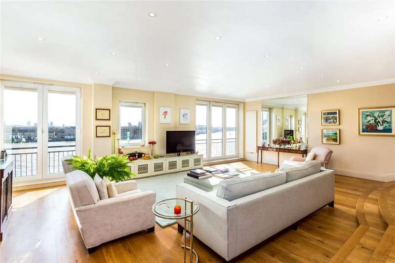 2 Bedrooms Unique Property for sale in Keepier Wharf, 12 Narrow Street, Canary Wharf, London, E14
