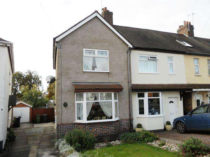 2 Bedrooms Terraced House for sale in Glenfield Avenue, Weddington, Nuneaton