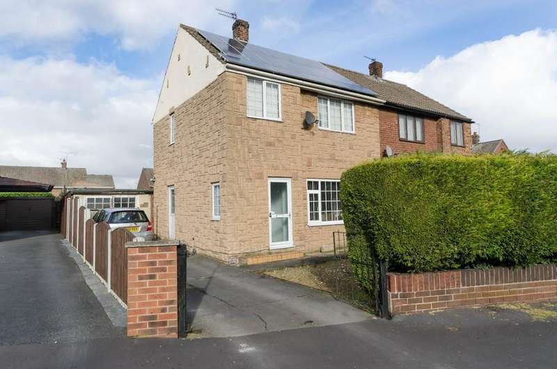 3 Bedrooms Semi Detached House for sale in Pentland Avenue, Knottingley