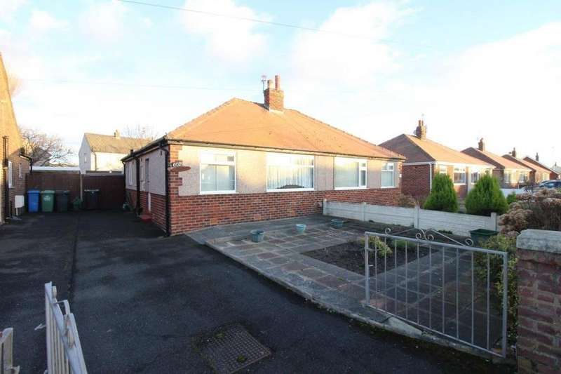 2 Bedrooms Semi Detached Bungalow for sale in North Drive, Thornton-Cleveleys