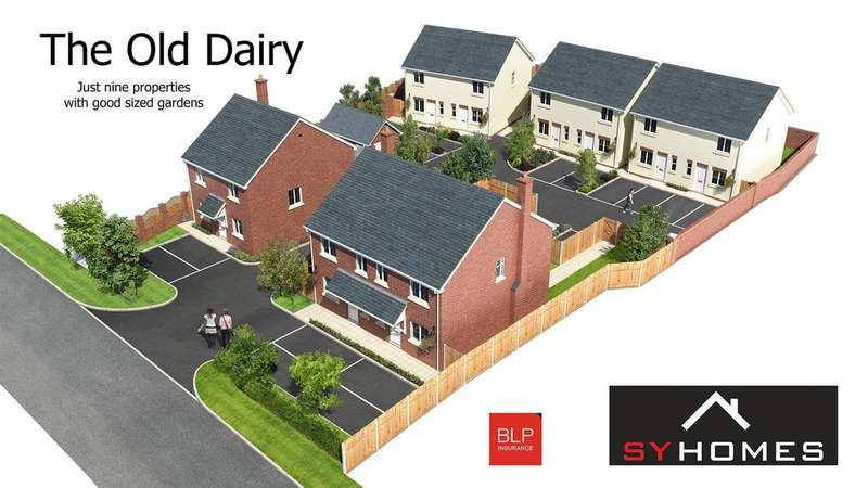 4 Bedrooms Detached House for sale in The Old Dairy, Mytton Oak Road, Shrewsbury