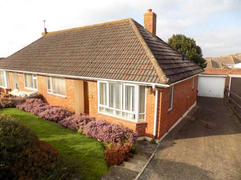 2 Bedrooms Semi Detached Bungalow for sale in Mount Pleasant Avenue, Exmouth