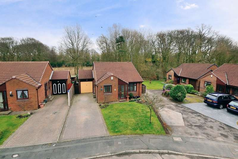 2 Bedrooms Detached Bungalow for sale in Hudson Close, Old Hall, Warrington
