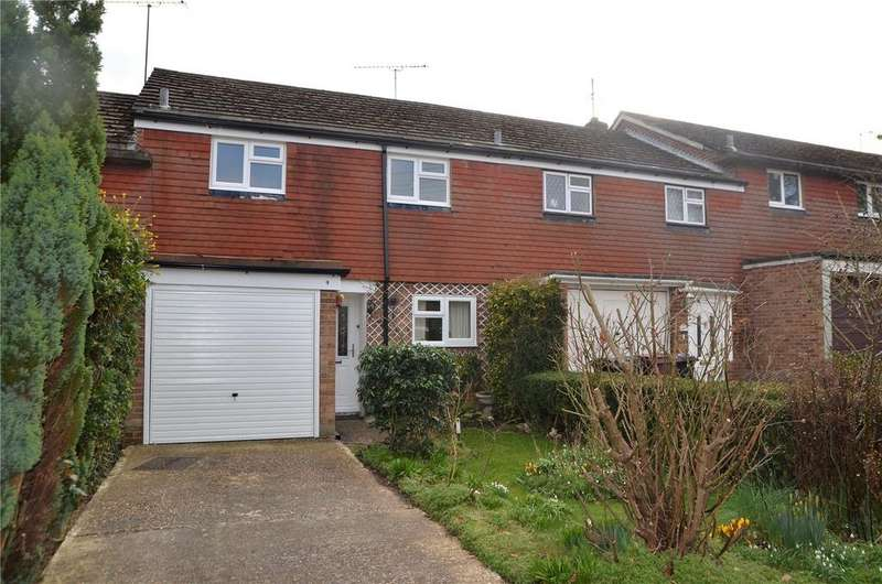 3 Bedrooms Town House for sale in Walmer Close, Tilehurst, Reading, Berkshire, RG30