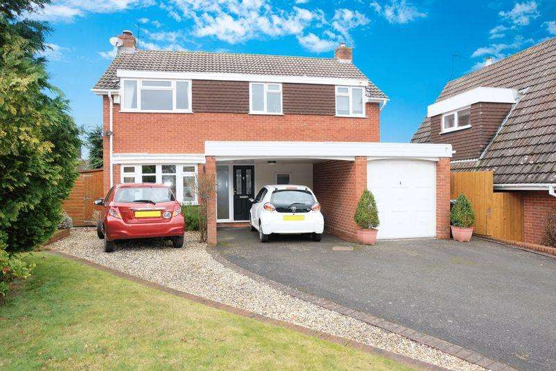4 Bedrooms Detached House for sale in Valley View, Bewdley DY12 2JX