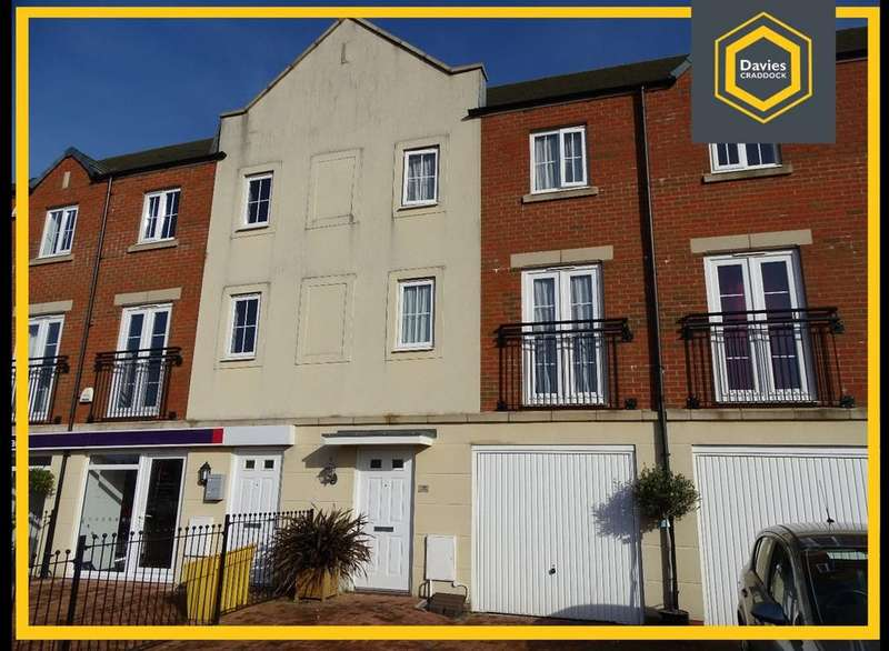 3 Bedrooms Town House for sale in Stryd Bennett, Llanelli, SA15