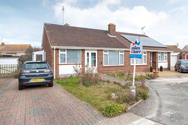 2 Bedrooms Semi Detached Bungalow for sale in Ingoldsby Road, Birchington