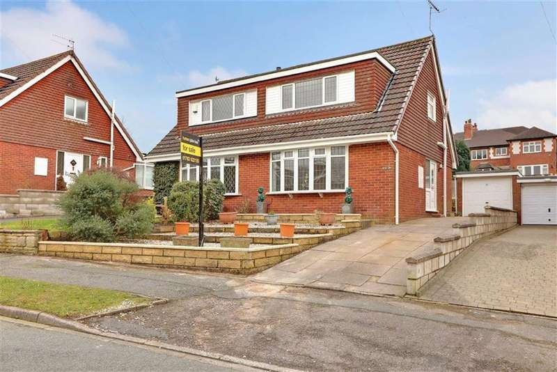 2 Bedrooms Semi Detached Bungalow for sale in Pembroke Drive, Thistleberry, Newcastle-under-Lyme