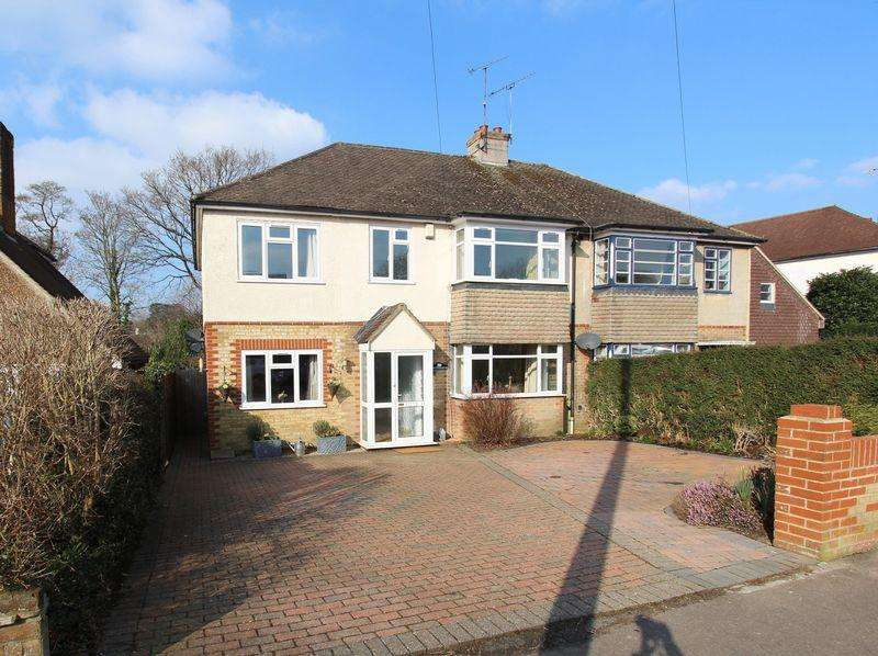 5 Bedrooms Semi Detached House for sale in Grand Avenue, Hassocks