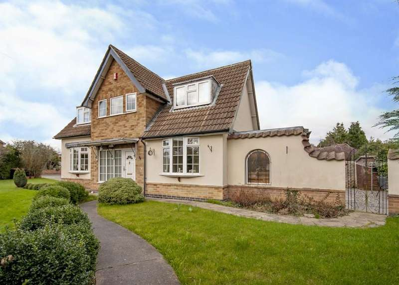 3 Bedrooms Detached House for sale in Tennyson Drive, Attenborough