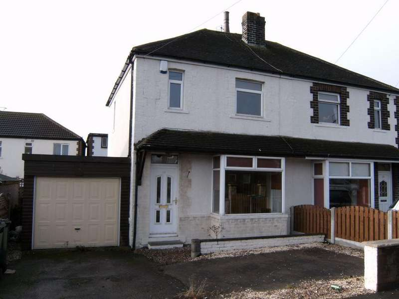 3 Bedrooms Semi Detached House for sale in Sunny Bank Road, Mirfield, West Yorkshire, WF14