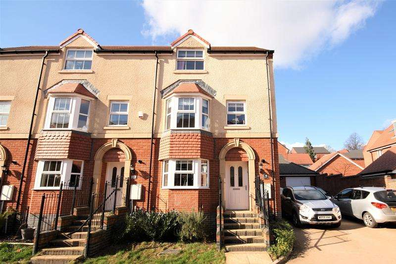 4 Bedrooms End Of Terrace House for sale in Meadow Close, Newport, Newport. NP20 5BY