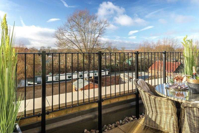 4 Bedrooms End Of Terrace House for sale in Abbey House, Beaumont Gate, Abbey Road, Oxford, OX2