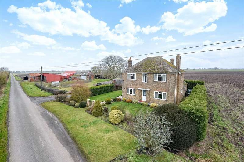 4 Bedrooms Detached House for sale in Broad Drove, Gosberton Clough, PE11