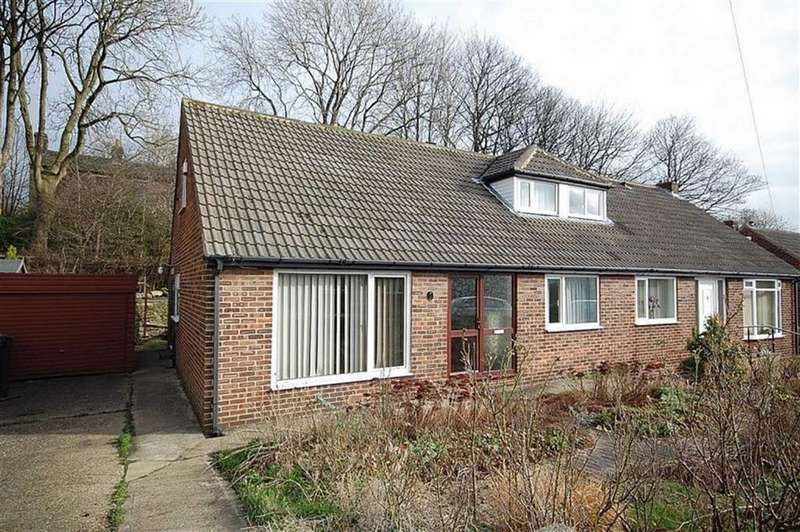 4 Bedrooms Semi Detached Bungalow for sale in Orchard Road, Kirkheaton, Huddersfield, HD5